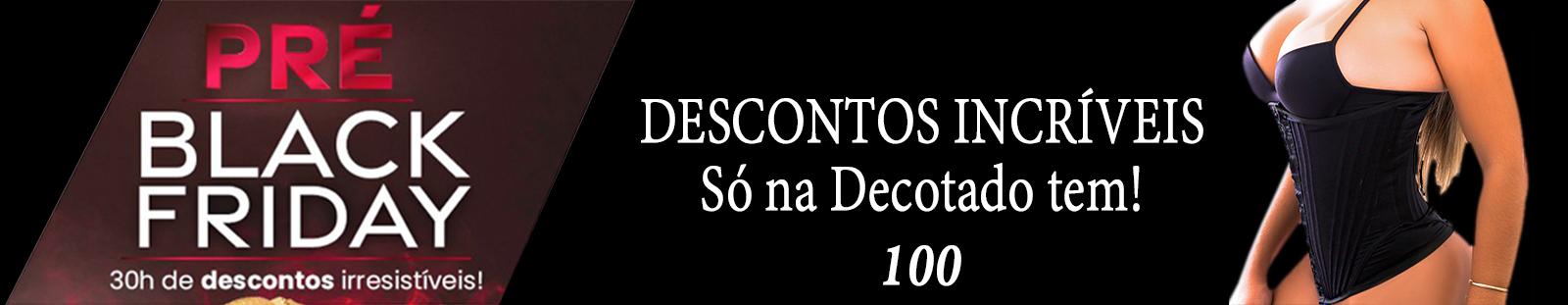 PRÉ BLACK FRIDAY banner